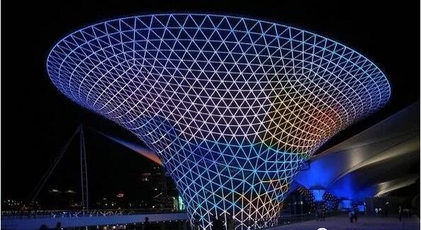 钢结构网架建筑