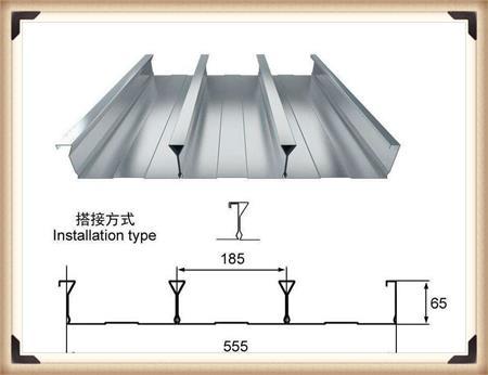 YXB40-185-740闭口楼承板尺寸介绍