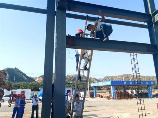 内蒙古钢结构焊接