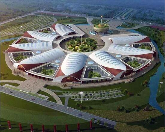 呼和浩特国际农业博览园规划图。呼和浩特市政府供图