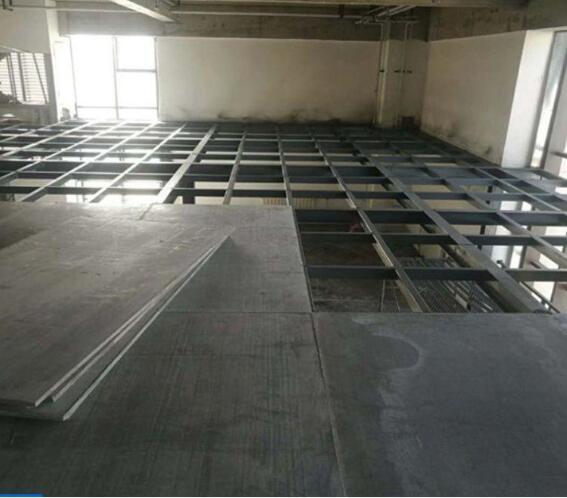 钢结构楼层板施工应用图