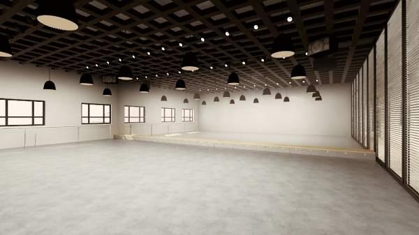 舞蹈排练厅