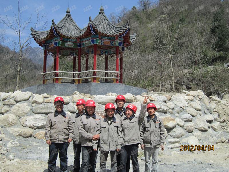 金东园景施工团队风采
