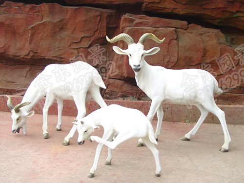汉中动物雕塑案例