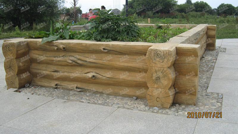 汉中仿木花箱案例