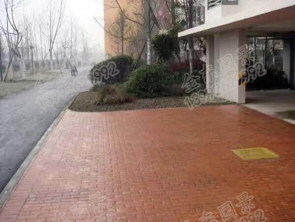 汉中透水地坪