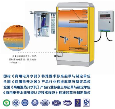 电热开水器工作原理