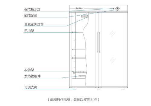 四川康宝消毒柜内部结构