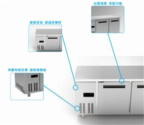 四川冷冻冷藏柜细节