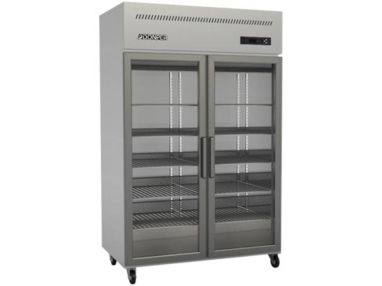 四川冷藏冷冻柜-中型展示柜双/四门