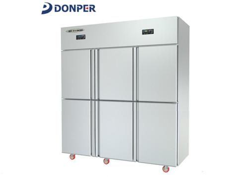 四川冷藏冷冻柜-六门好乐冰箱HL-1600C2D2S