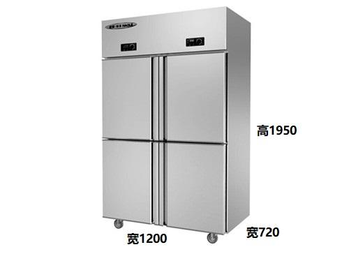 这是一款双温可调的四川冷藏冷冻柜