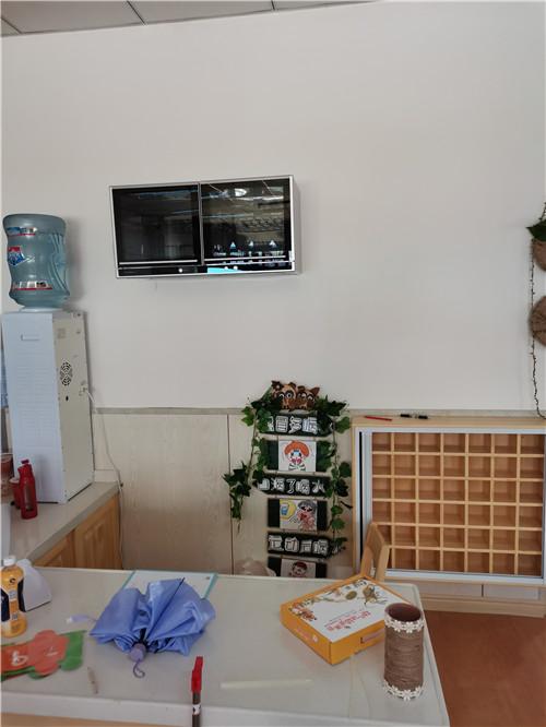 南充幼儿园消毒柜安装效果