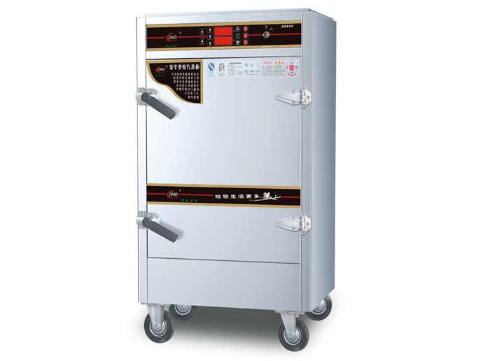 四川蒸饭柜-数码豪华型电汽两用蒸柜