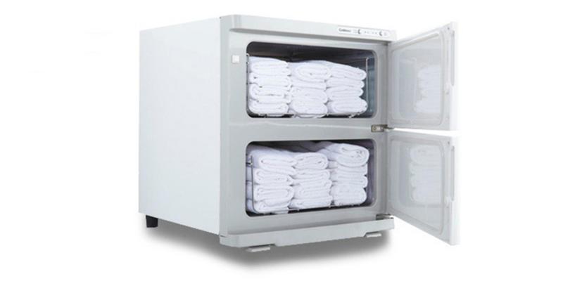 康宝湿热毛巾柜侧面