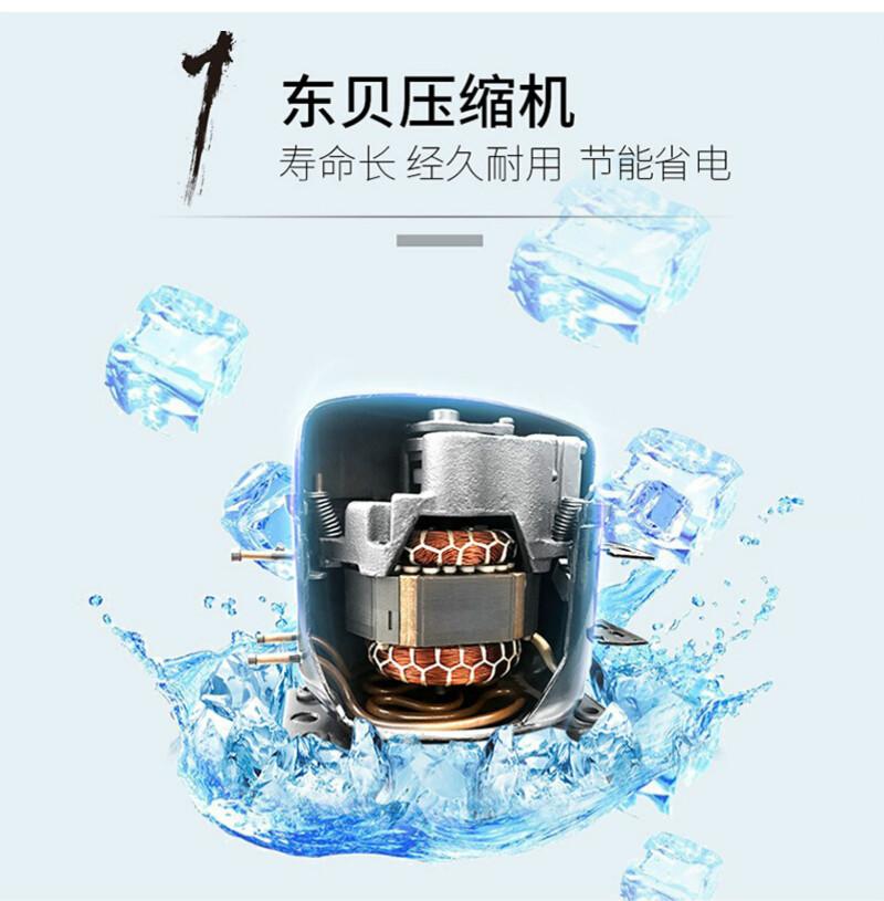 冷藏冷冻平台柜压缩机