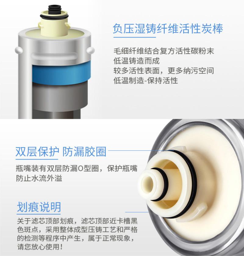 裕豪直饮水机滤芯构造