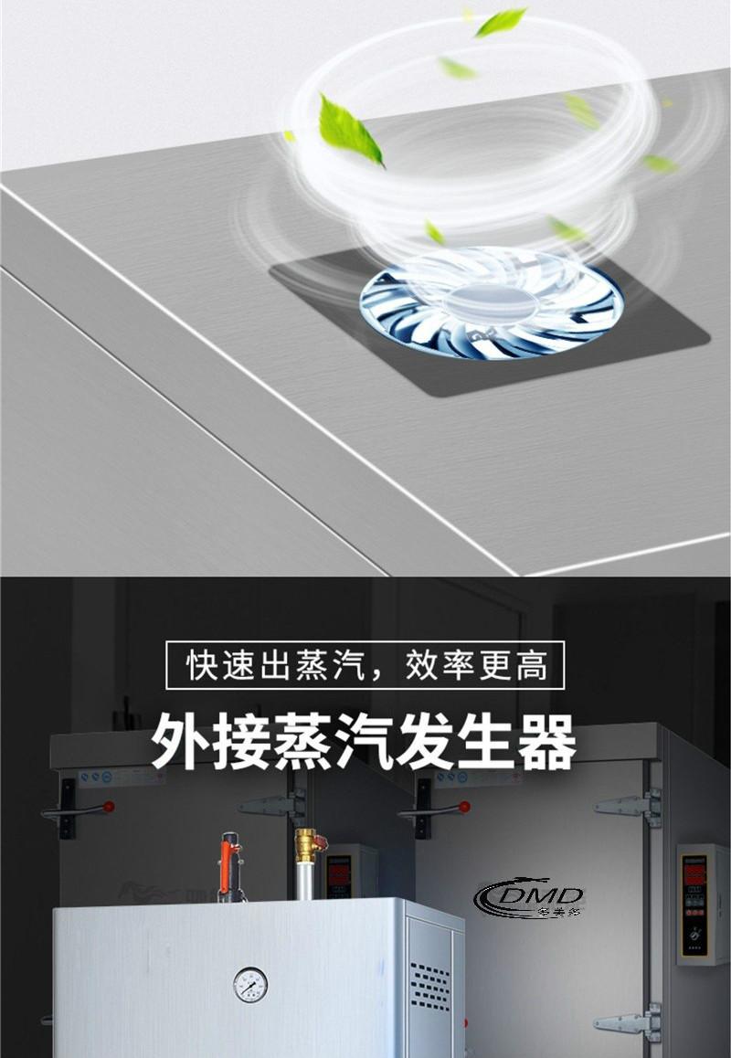 外挂蒸汽发生器中央厨房隧道式大型蒸饭柜