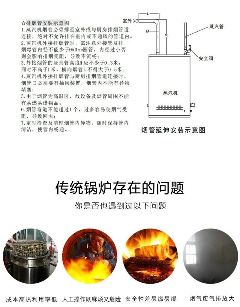 多美多蒸汽发生器说明图