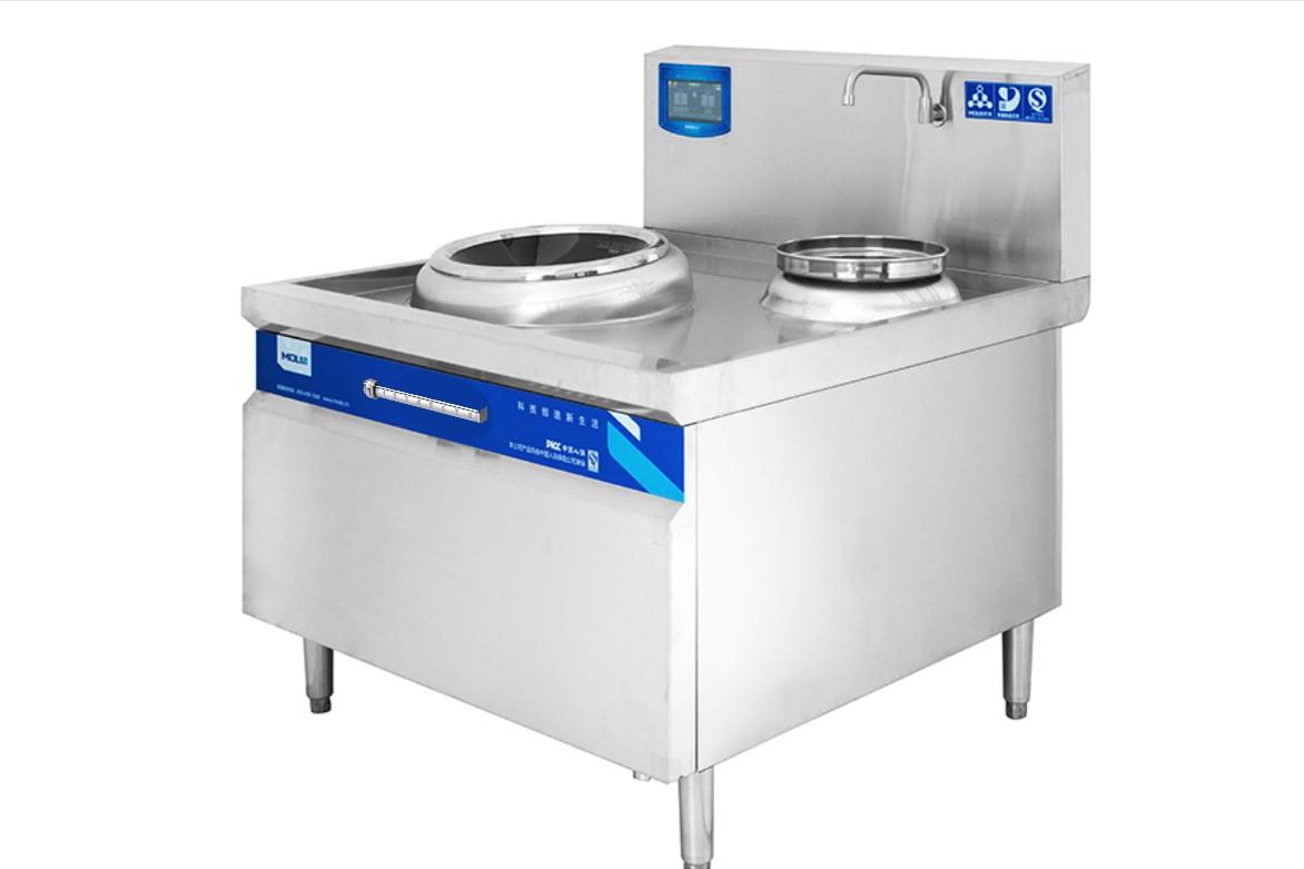 四川商用电磁炉-带水缸单头大锅灶