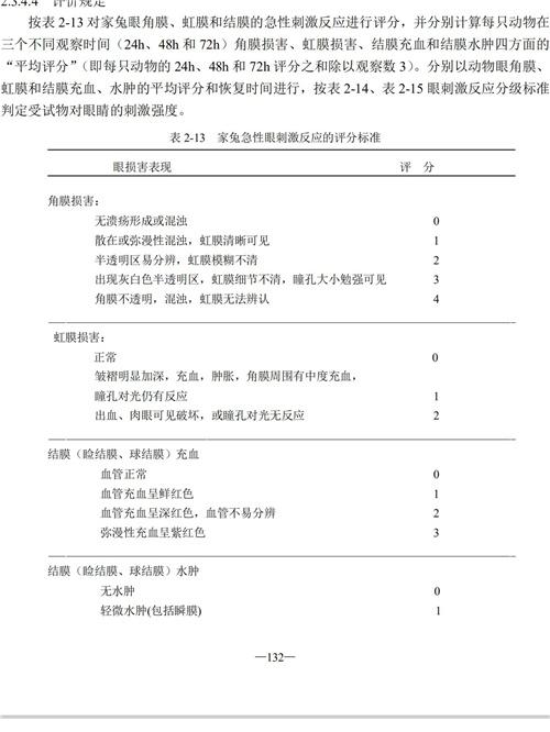 消毒技术规范参数