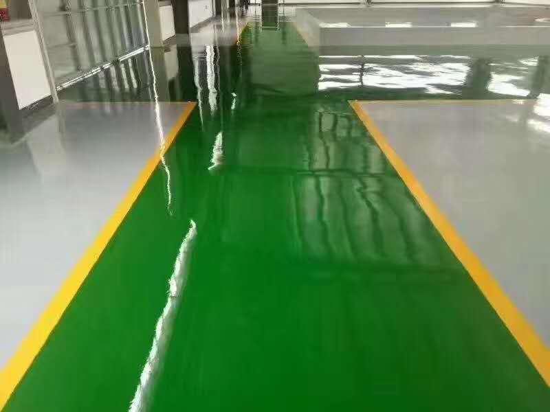 环氧地坪漆各涂层的作用及漏涂的危害