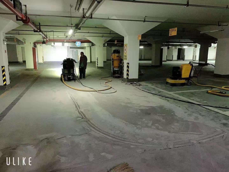 陕西省凤城五路卡地亚小区固化剂地坪施工