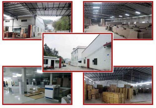 西安展柜制作工厂现场展示图