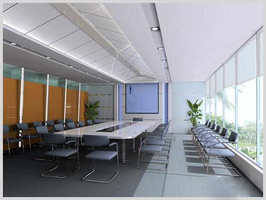 西安展柜制作厂家的会议室