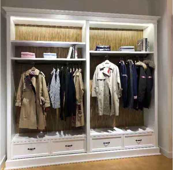 服装展柜设计
