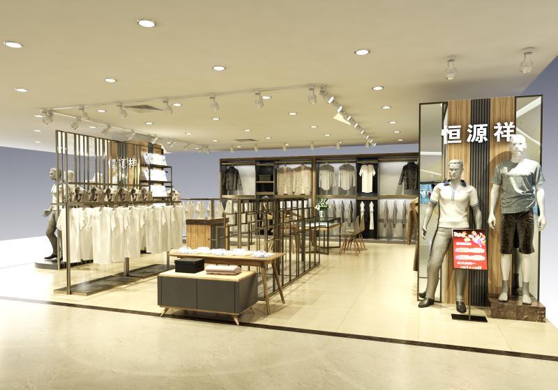 西安服装展柜设计