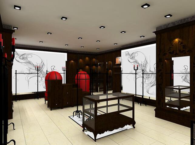 橱窗展柜需要哪些注意细节,西安服装展柜厂家给我们具体的详解