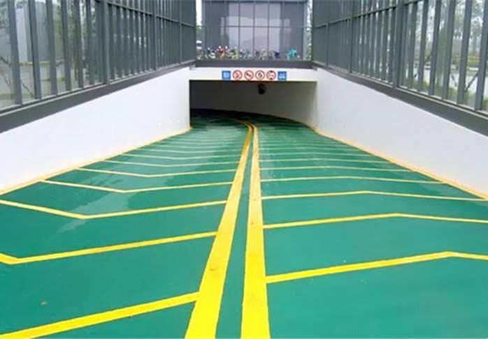 四川耐磨地坪-车库