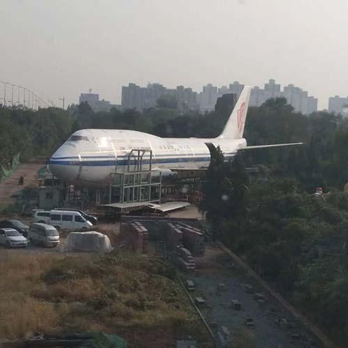 退役波音747防腐涂装