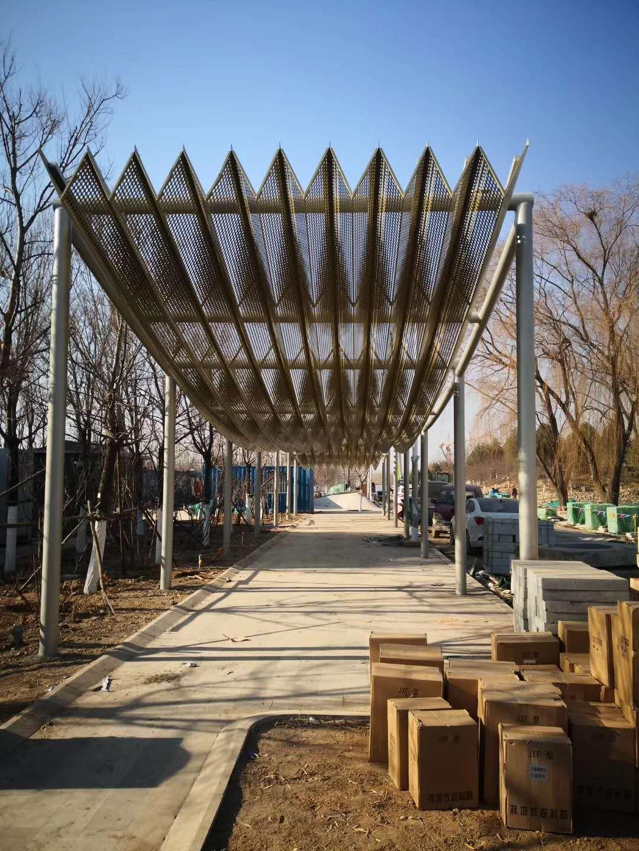 北京世园会园林钢结构防腐客户评价