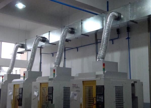 成都风管安装合作案例