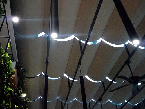 LED灯合作客户:安州区创业餐厅