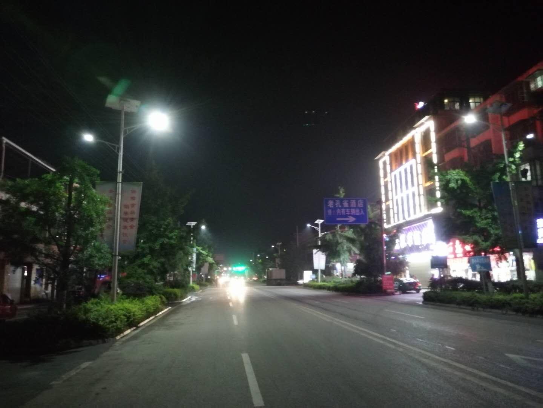桑枣镇太阳能路灯项目