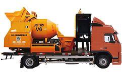 呼市建筑设备租赁 臂架泵车