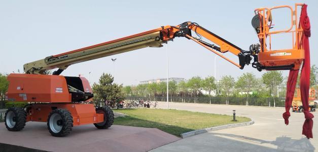 直臂式高空作業平臺的特點