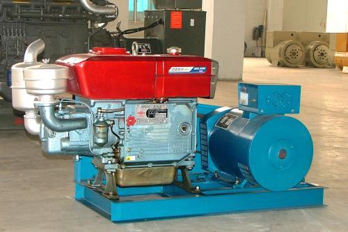 小功率集装箱式柴油发电机组原理介绍