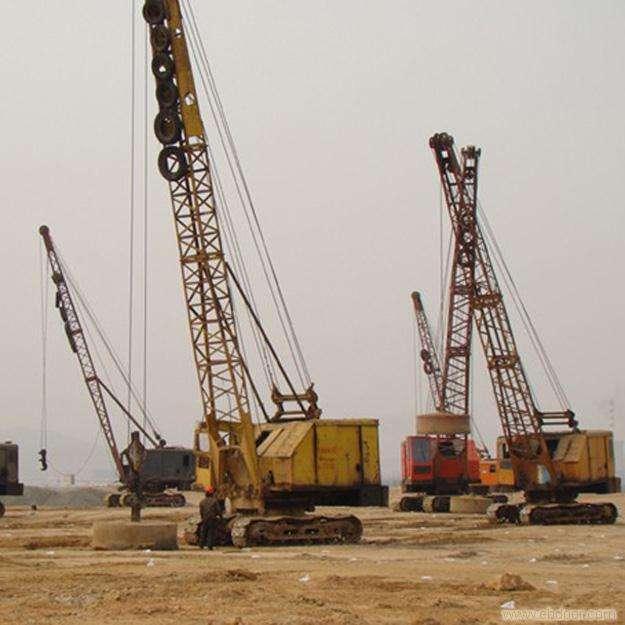 建筑机械设备施工