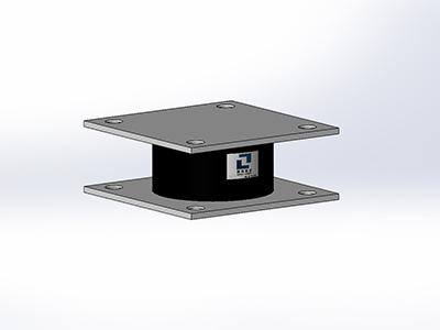 疊層鋼板鉛芯橡膠支座
