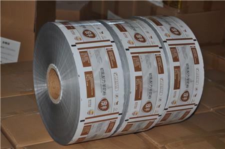 彩印包装袋卷材加工
