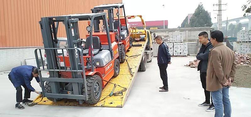 江淮公司的四川内燃叉车是真的好用