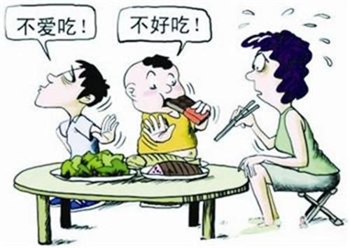 儿童厌食偏食