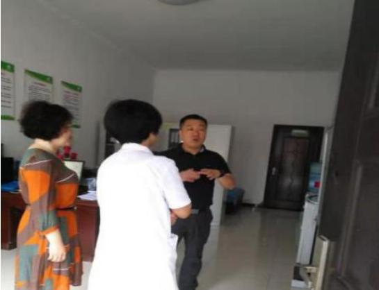 基地主任雷晓康教授赴西咸新区  沣东新城福湾生态护养中心调研