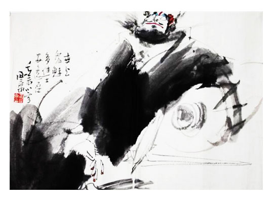 西安王西京字画