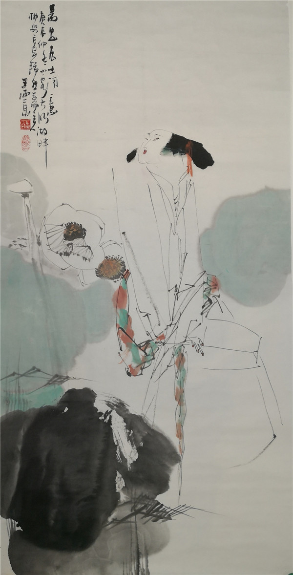 西安刘文西字画收购