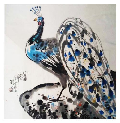 西安刘文西字画